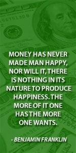 Money quotes ben franklin
