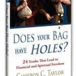 Interview With Cameron C. Taylor, Author Of Does Your Bag Have Holes