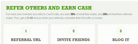 Refer Users To Cash Crate