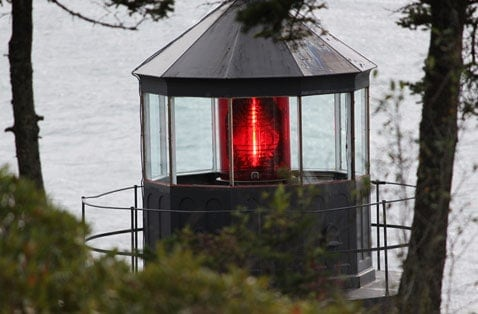 Bass Harbor Lighthouse Near Bar Harbor, Maine