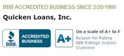 Quicken Loans BBB