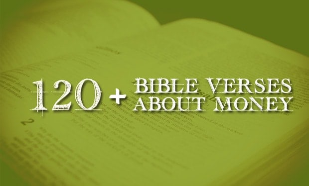 Bible Verses About Money What Does The Bible Have To Say