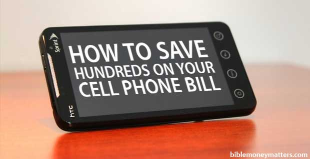 save hundreds on your cell phone bill
