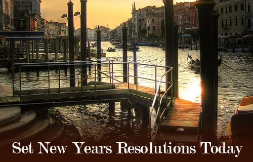 set resolutions today
