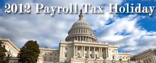 Payroll Tax Cut Extended 2012