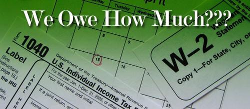 Dealing With A Big Tax Bill