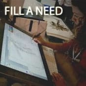 make money by filling a need