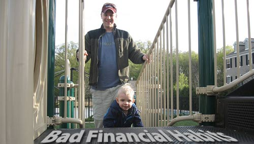 bad financial habits to avoid teaching your kids