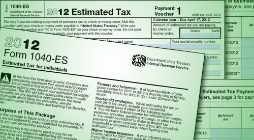 estimated tax details