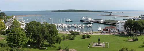 Mackinac Island Harbor
