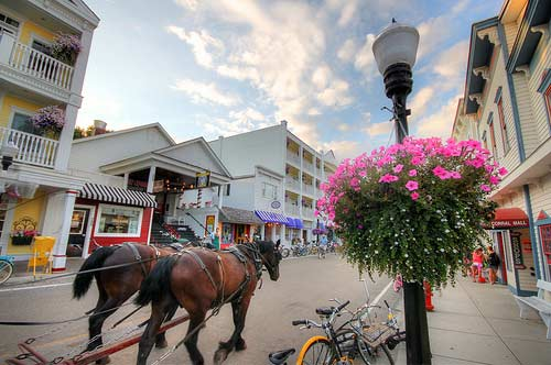 Mackinac Island Main Street