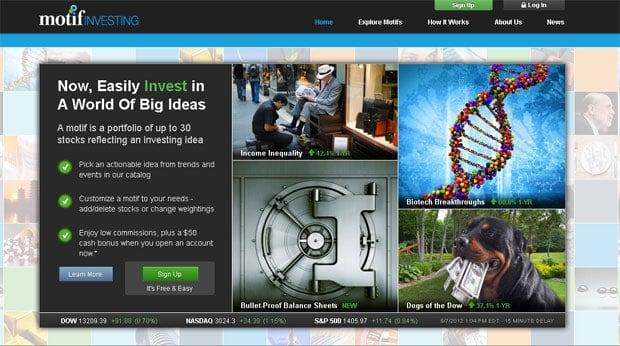 Motif Investing $150 Account Bonus