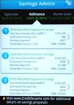Credit Sesame Savings Advice