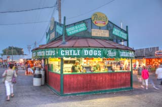 saving at the minnesota state fair Peter's chili dogs