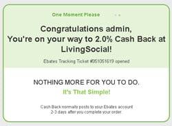 ebates deals