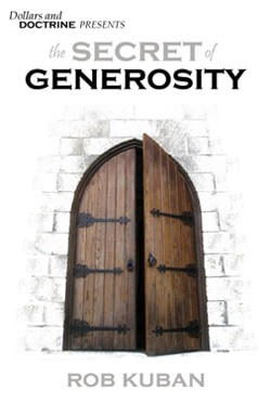 secret of generosity book