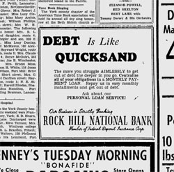 debt is like quicksand