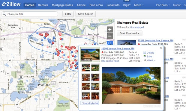 How to use zillow when buying or selling a home for Zillow site
