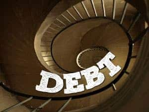 warning signs you won't get out of debt