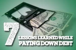 lessons learned while paying debt