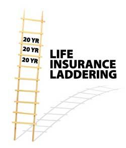 life insurance laddering