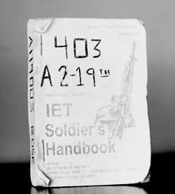 soldier's handbook