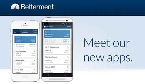 New Betterment Apps