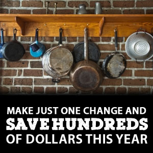 one change to save hundreds