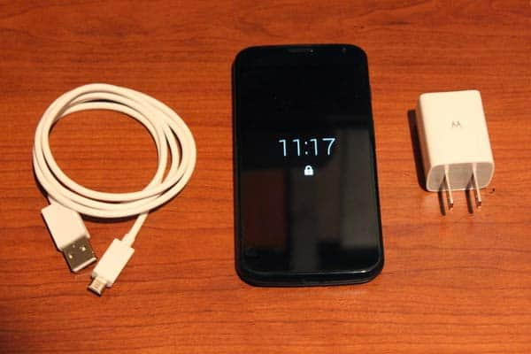 Moto X, Charge N' Sync Cable, USB Wall Plug With 2 Ports