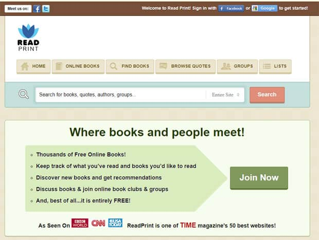 Read Free Books Online - Read Print