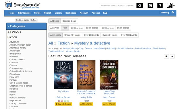 Read Free Books Online - Smashwords