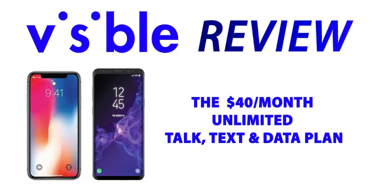 Visible Review: Unlimited Calling, Texting And Data For One Low Cost